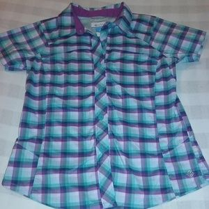 Columbia Sportswear Company Girls Button Down Top